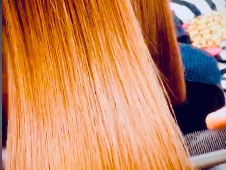 ハリツヤ髪✨酸熱トリートメント
