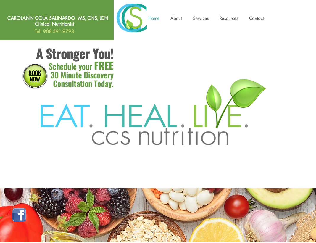 CCS Nutrion website