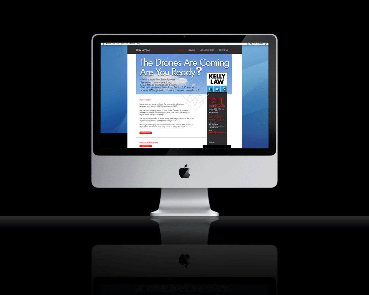 Kelly Law UAS Website