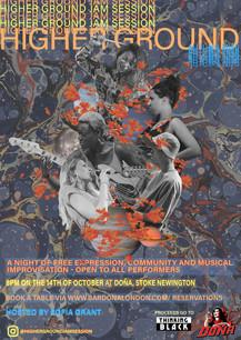 Higher Ground Jam Session Poster-  Autumn 2020