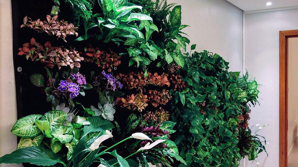 12 Pocket Indoor Waterproof Vertical Living Wall Planter