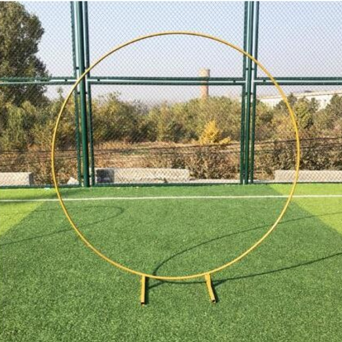 Wrought Iron  Round Backdrop Arch Stand
