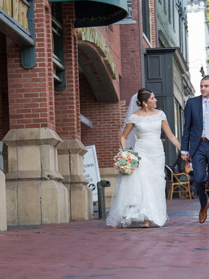 Real Wedding: District Wedding with a Georgetown Stroll