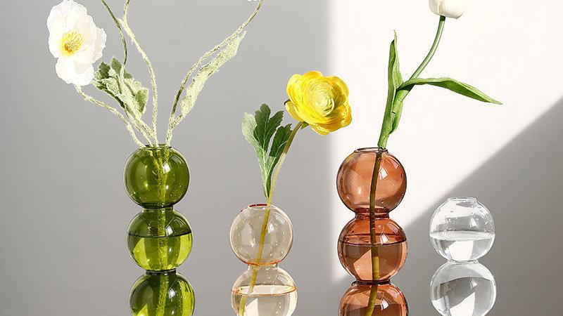 Crystal Bubble Vase