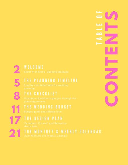 The Wedding Planning Guide  Jan - June (