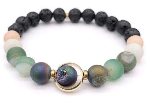 Orbital Planet Bohemia Essential Oils Diffuser Bracelet