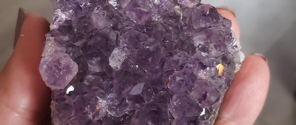 Grade AA Amethyst Druzy Crystals