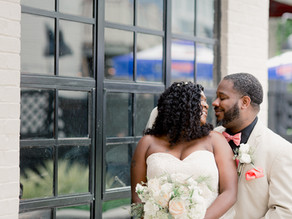 Real Wedding: Natural Elegance with an Industrial Flair