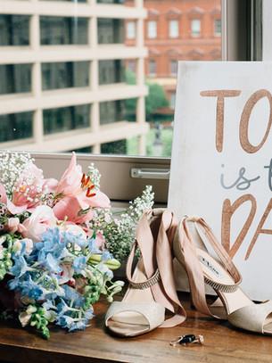 Real Wedding: The Loft at 600 F Ceremony & Reception