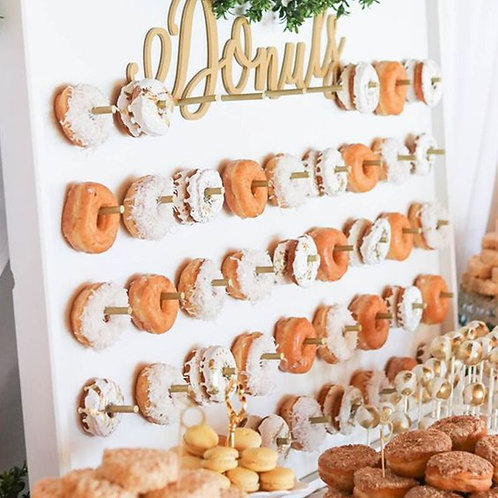 Wooden Donuts Wall