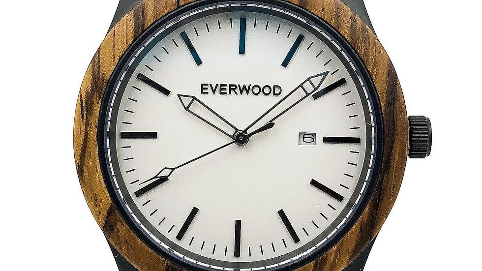 Inverness   Zebrawood   Black Leather
