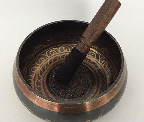 Nepal Tibetan Sing Bowl 7 Size  Meditation Singing Bowl