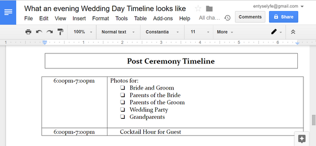 And Then The Fun Begins With Your Reception