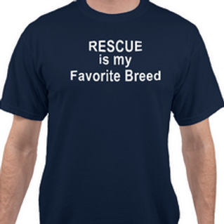 Rescue is my Favorite Breed t-shirt