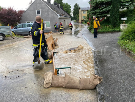 Unwetter / Hochwasser 17.-19. Juli 2021