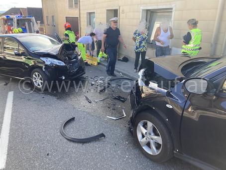T1 - Verkehrsunfall