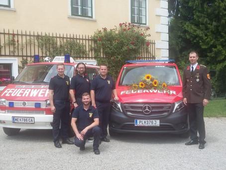 Besuch beim Sommerfest der FF-Untergrafendorf