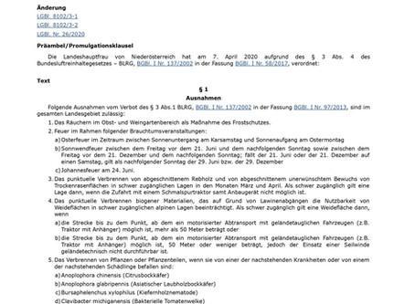 Verbot von Oster- und Sonnwendfeuer