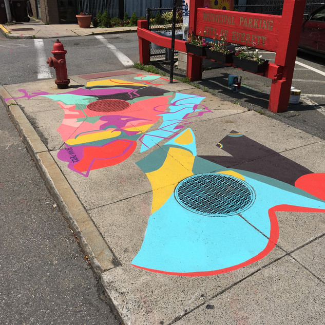 CITY OF EVERETT SIDEWALK MURAL