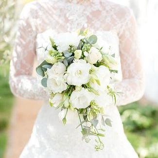 Bridal Bouquet Cascade