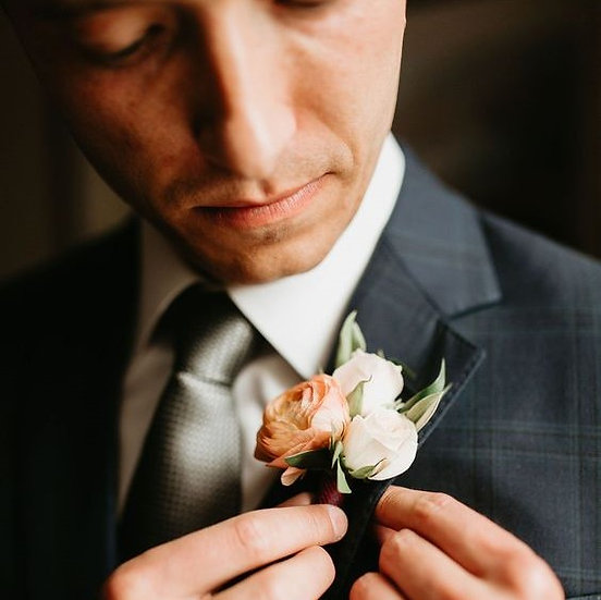 Magnetic Boutonniere