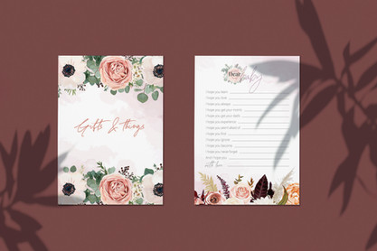 Oh Baby: baby shower stationery