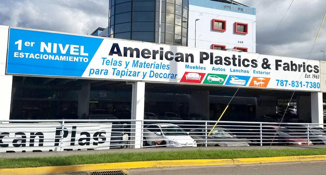 American Plastics and Fabics, Tienda de telas