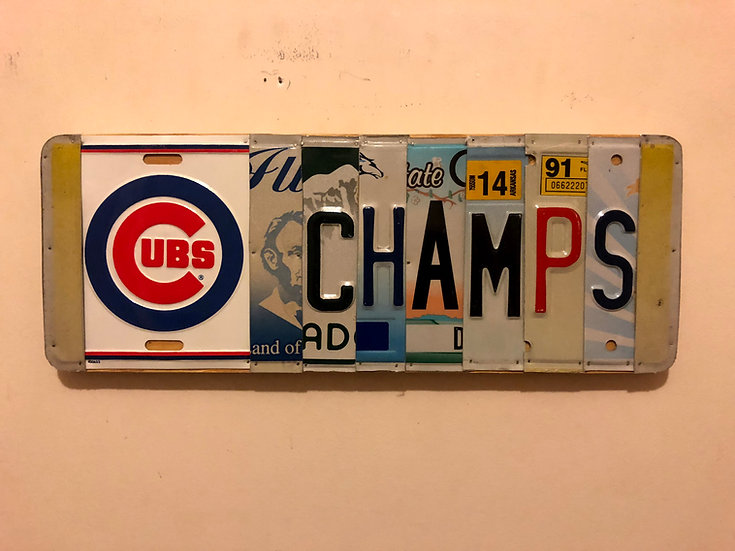 Cubs LP Sign