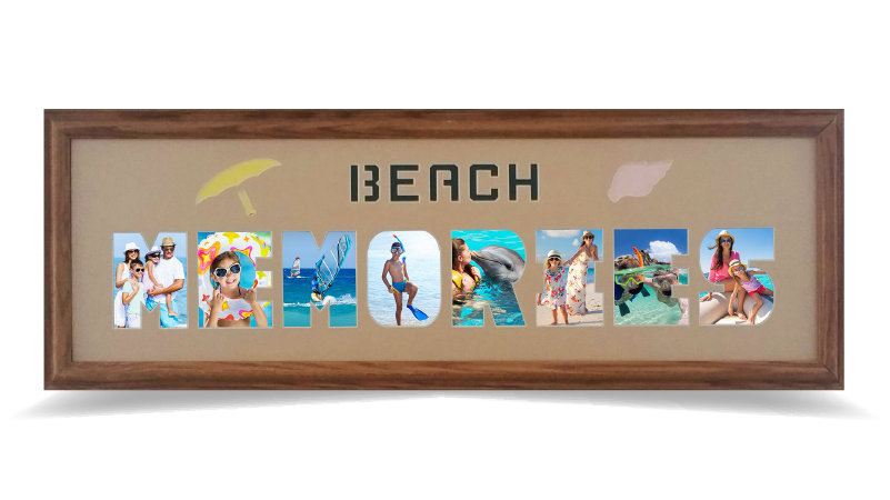 "BEACH MEMORIES 8"" x 26"""