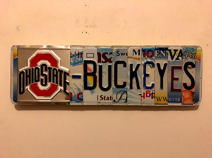 OSU Buckeyes LP Sign