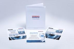 Honda Marine Collateral