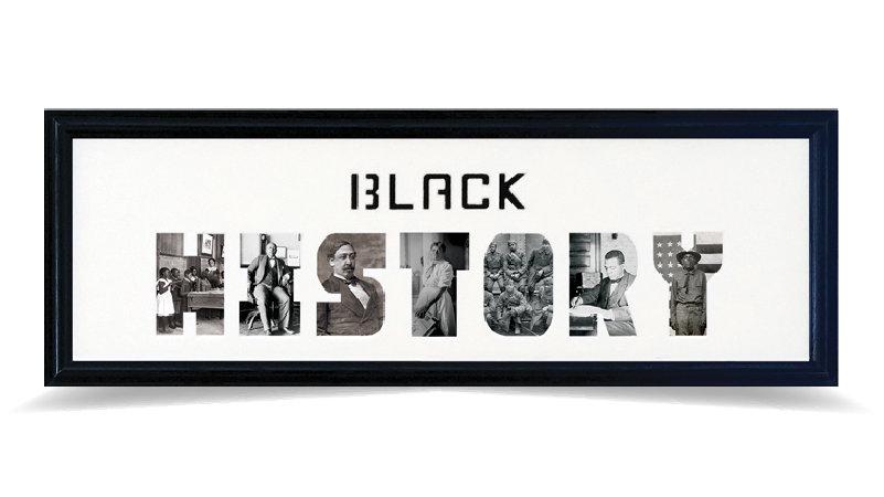 "Black History Month 8"" x 26"""