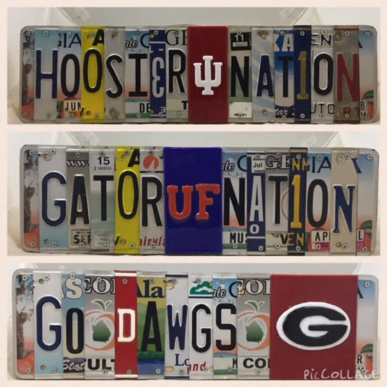 Custom License Plate Signs- Personalized/Custom Gifts