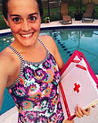 My first day of school picture! 📚🏊🏼♀