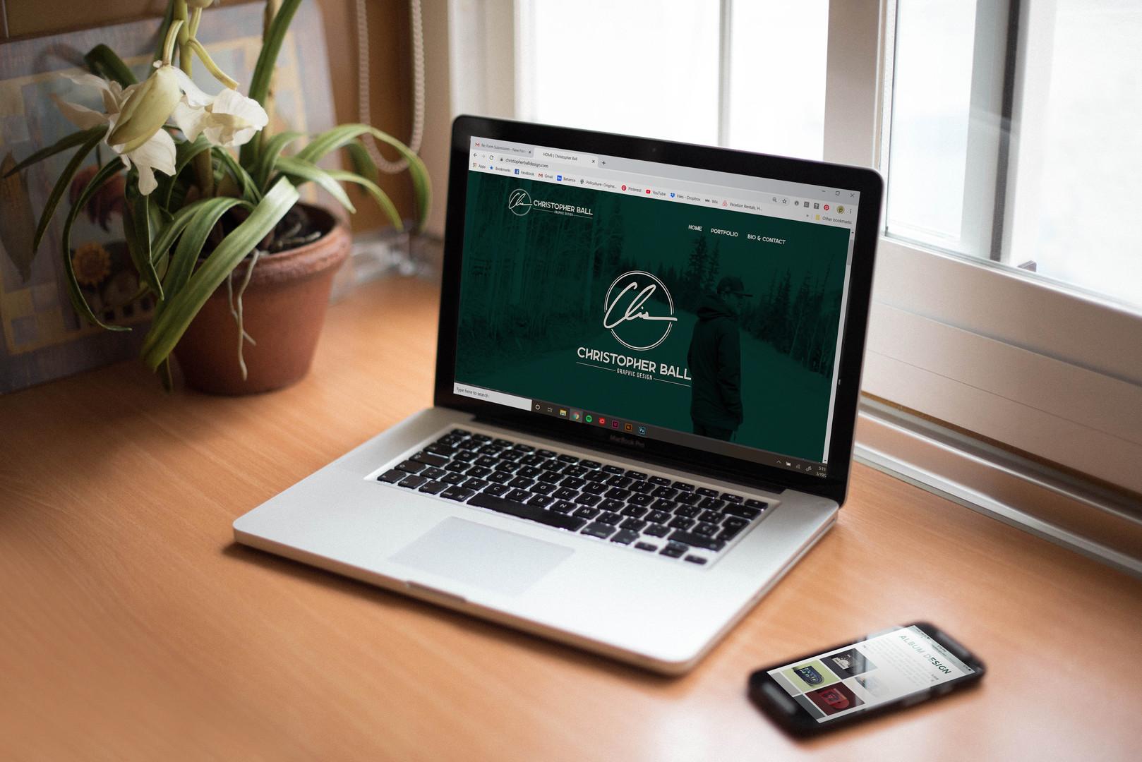 Christopher Ball Design Website (