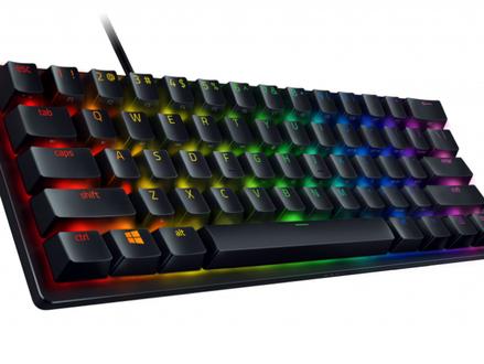 """Razer lança versão """"mini"""" do Hunstman, seu teclado gamer com switch óptico"""