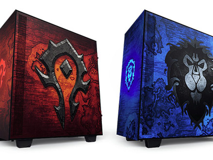 Novos gabinetes NZXT H510 Alliance e H510 Horde visam fãs de World of Warcraft