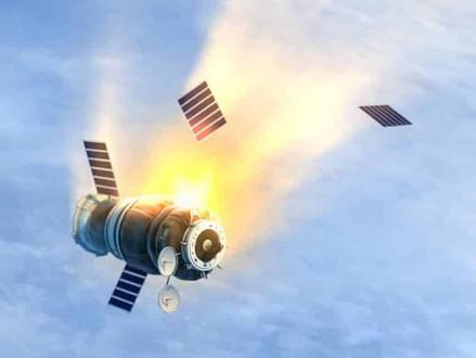 Vídeo mostra satélite da Nasa se desintegrando na atmosfera