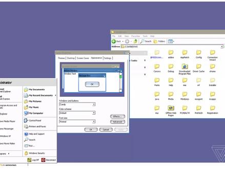 Versão vazada do Windows XP mostra que Microsoft trabalhou em tema baseado no Mac OS X