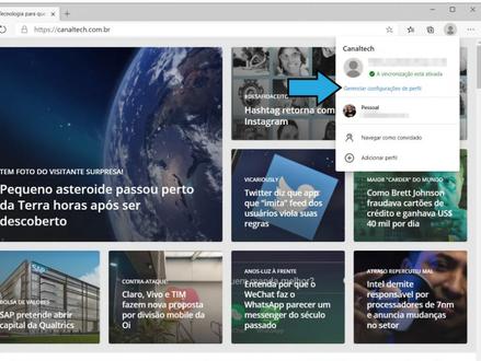 Nova função do Microsoft Edge ajuda quem usa o app para trabalho e vida pessoal