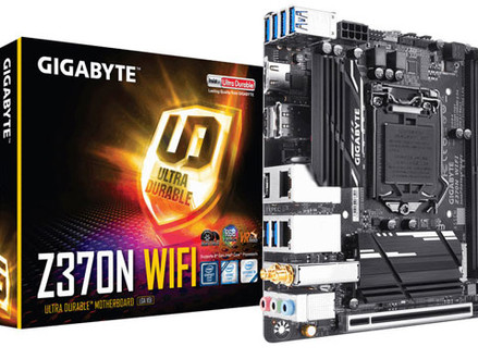 Gigabyte apresenta a placa-mãe mini-ITX Z370N WIFI para CPUs Intel Coffee Lake