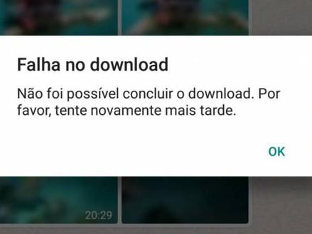 WhatsApp não consegue baixar fotos e vídeos? Veja o que pode ser