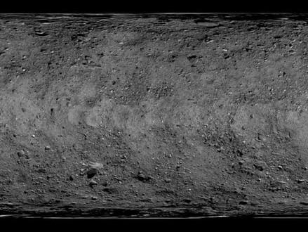 NASA captura imagens em alta resolução da superfície do asteroide Bennu