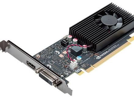 Nvidia começa a vender GT 1030 com clocks de memória reduzidos
