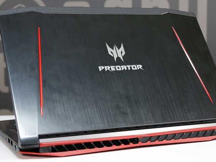 Acer Predator Helios 300  Potente e compacto, mas que pode aquecer bastante o chip GTX 1060