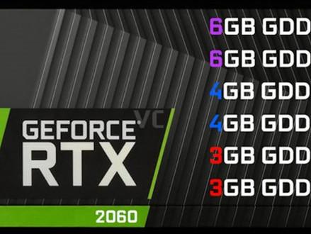 NVIDIA GeForce RTX 2060 de 3 GB, 4 GB e 6 GB ganham registro na EEC