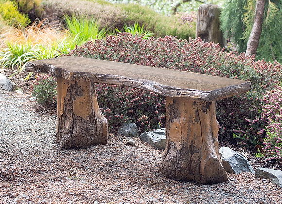 Live Edge Bench Driftwood bases