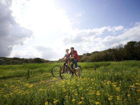 """Ontdek de nieuwe fietsroute """"Groen Lint"""" rond Oostende"""