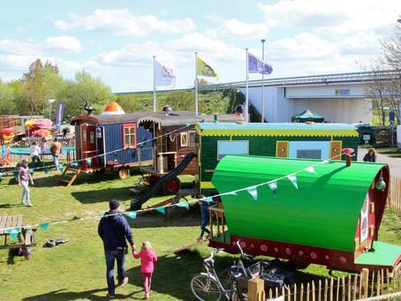 De Gipsy Village is een speeloase voor kinderen in Nieuwpoort