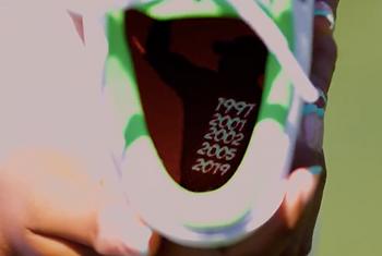 Tigress Amari Avery Custom Jordan Golf Shoes Honoring Tiger Woods
